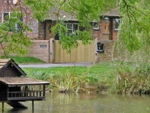 James Automation - The Duck Pond - Tracked Sliding Gate